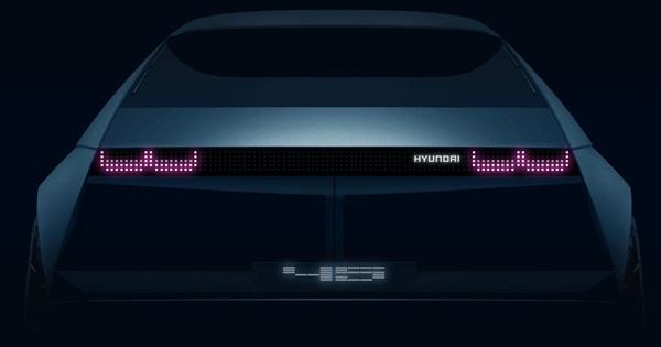 Hyundai 45 – Cột mốc mới của xe Hàn sắp ra mắt