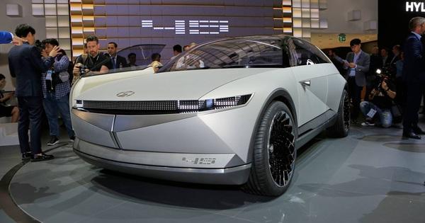 Hyundai 45 Concept: Lấy cảm hứng từ quá khứ tạo nền tảng cho tương lai