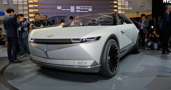 Hyundai 45 – Đàn anh Kona chạy điện với thiết kế đầu siêu dị đã lăn bánh trên đường, hứa hẹn ngày ra mắt không còn xa