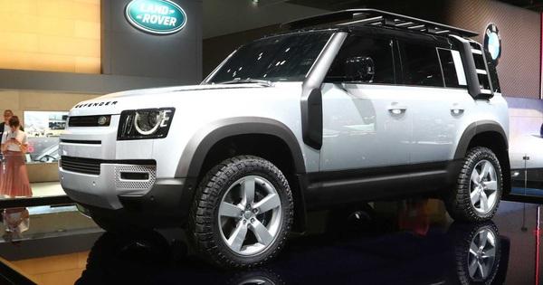 Đại lý bắt đầu nhận đặt cọc mẫu Land Rover Defender 2020, dự kiến về Việt Nam tháng 3 năm sau