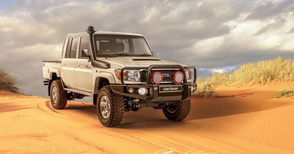 Toyota Land Cruiser bất ngờ tung phiên bản mới
