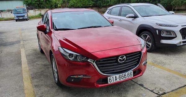 9x Bình Dương với bàn tay vàng bốc biển 6 số 6 cho Mazda3