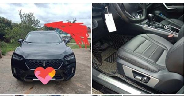Xe Trung Quốc WEY VV7 được rao bán với mức giá rẻ bất ngờ, nhưng giấy tờ mới đáng chú ý