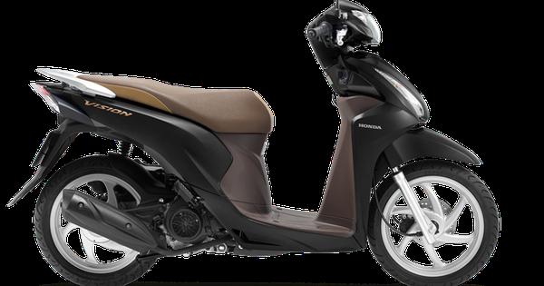 Vua xe ga Honda Vision thêm phiên bản mới, giá từ gần 30 triệu đồng