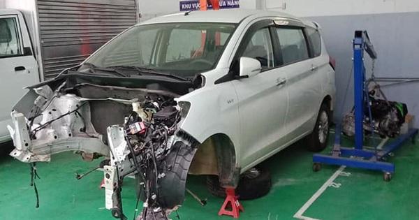 Chủ xe Ertiga tố đại lý Suzuki lừa tiền gửi xe và bảng báo giá sửa chữa gần 300 triệu đồng gây choáng
