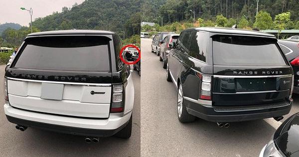 Loạt xe sang Range Rover bị vặt gương, trộm logo ở Việt Nam