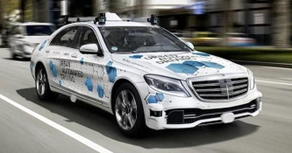 Thử nghiệm loạt xe sang Mercedes S-Class thành xe tự lái