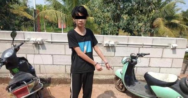 Bé trai 13 tuổi thực hiện trót lọt 22 vụ trộm xe chỉ vì muốn cung phụng cho người yêu 22 tuổi gây xôn xao cộng đồng mạng