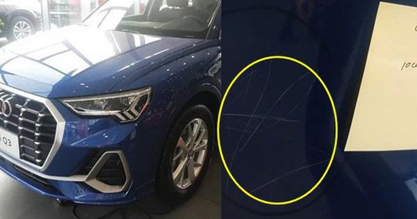 """Con gái 3 tuổi cào xước 10 xe hơi Audi khiến bố mẹ """"méo mặt"""" gánh hậu quả"""