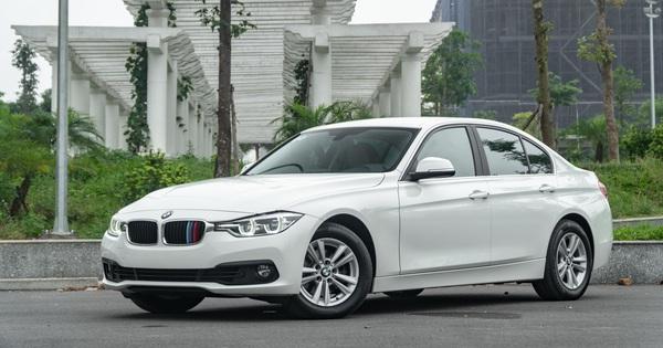 3 năm tuổi, BMW 320i vẫn có giá bán lại cao hơn Toyota Camry mua mới
