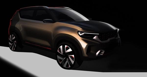 """Kia """"nhá hàng"""" thêm SUV mới – dự kiến đấu Ford EcoSport và Honda HR-V"""