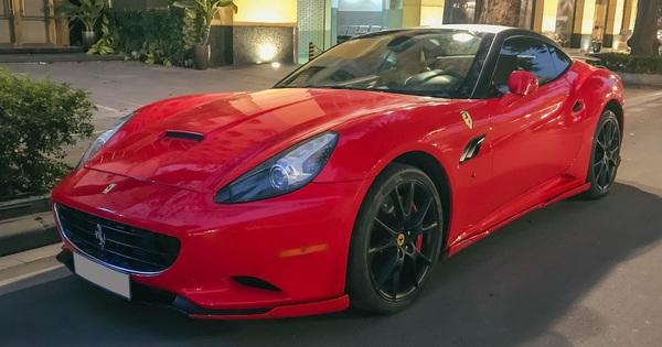 """Ferrari California độ độc nhất Việt Nam bất ngờ ra phố đón Tết sau một thời gian dài """"ở ẩn"""""""