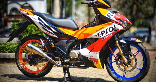 Mua Honda Winner X 50 triệu, dân chơi Huế bỏ thêm cả trăm triệu đồng độ lại: Phong cách lệch tông gây chú ý