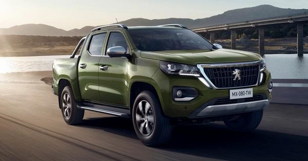 Ra mắt Peugeot Landtrek – Bán tải 6 chỗ đối đầu Ford Ranger