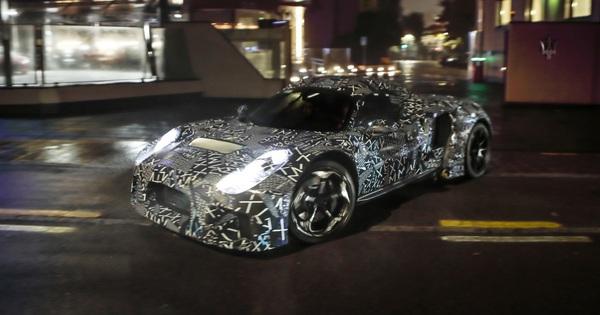 """Siêu xe thể thao Maserati mới lộ tên gọi, không còn """"vay mượn"""" đồ của Ferrari"""