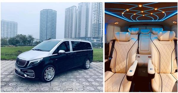 """Sau màn độ """"tới nóc"""", Mercedes-Benz V-Class Maybach độc nhất Việt Nam rao bán lại giá hơn 2 tỷ đồng"""