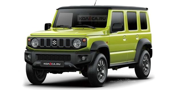 Suzuki dự định phát triển Jimny 5 cửa cỡ lớn