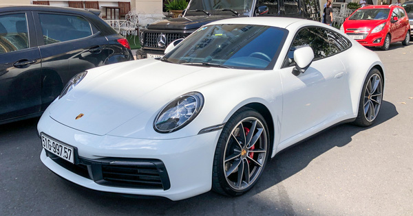 Rộ tin doanh nhân Nguyễn Quốc Cường chia tay Porsche 911 Carrera S