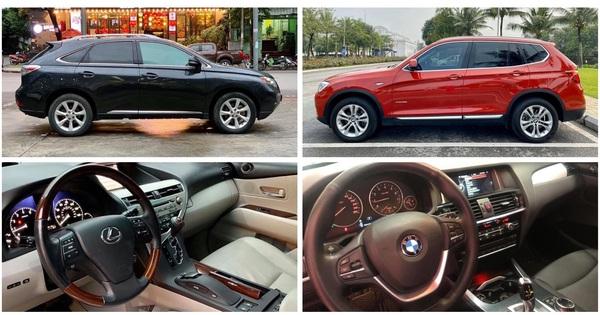 Đồng giá 1,3 tỷ đồng, chọn BMW X3 2016 hay Lexus RX 350 đã 10 năm tuổi?