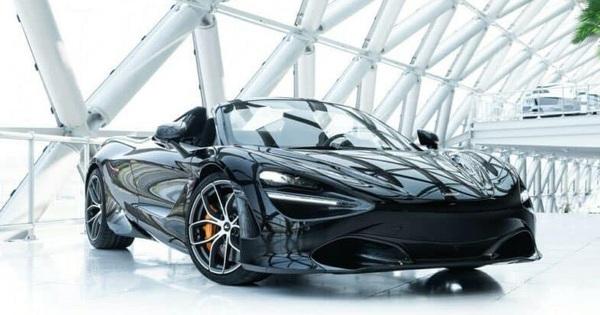 Thêm McLaren 720S Spider về Việt Nam, sở hữu màu sắc khác biệt so với số còn lại đang ở trong nước