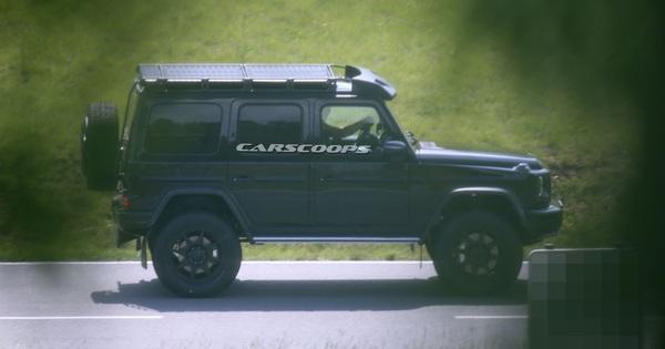 Mercedes-Benz G550 4×42 bất ngờ có thế hệ thứ 2 và đây là những tiết lộ đầu tiên