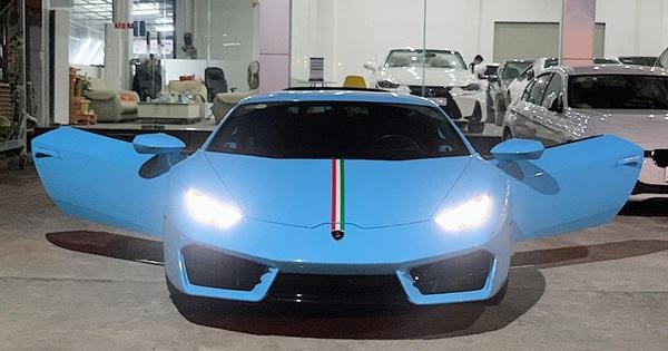 """""""Hàng hiếm"""" Lamborghini Huracan LP580-2 từng được rao bán giá 13,6 tỷ đồng tiếp tục về tay đại gia Sài Gòn"""
