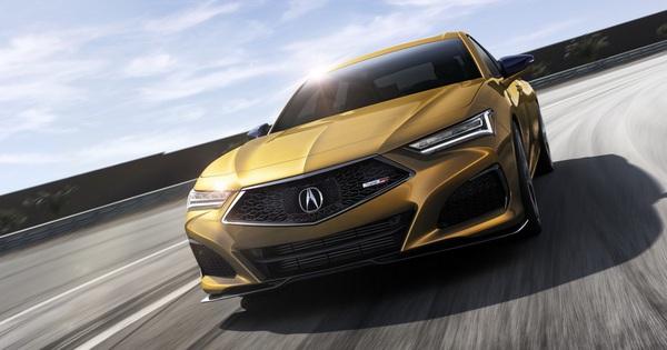 """Ra mắt Acura TLX 2021 – """"Honda Accord hạng sang"""" đấu Mercedes-Benz C-Class"""
