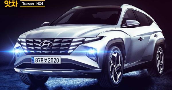 Khắc họa Hyundai Tucson thế hệ mới đẹp như Lamborghini Urus, đe doạ Honda CR-V
