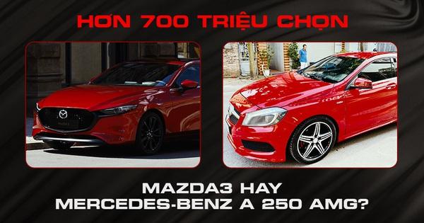 """Có hơn 700 triệu đồng, mua Mazda3 Sport mới cho """"lành"""" hay """"liều"""" tậu Mercedes A 250 AMG 7 năm tuổi"""