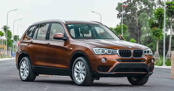 """""""SUV bị lãng quên"""" BMW X3 mới chạy 21.000km đã hạ giá khủng, chỉ đắt hơn Toyota Fortuner """"đập hộp"""" 100 triệu"""