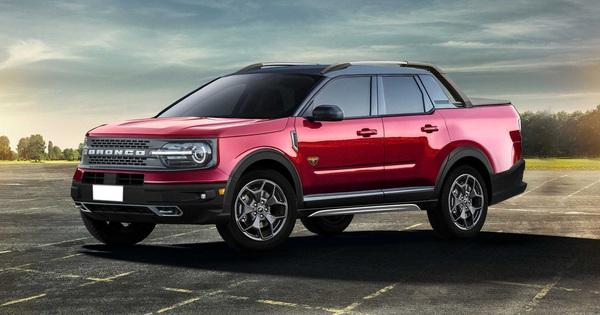 """Ford Maverick đàn em Ranger tiếp tục lộ thông tin """"hot"""""""
