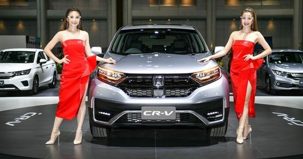 Xem trước Honda CR-V mới sắp ra mắt Việt Nam