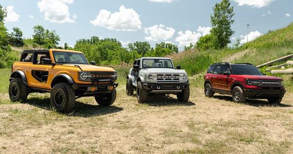 Đây là số đơn đặt hàng khủng khiếp mà Ford nhận được cho Bronco chỉ trong 2 tuần
