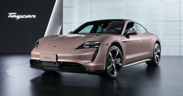 Mãi chưa ra mắt chính thức ở Việt Nam, Porsche Taycan lại có thêm phiên bản mới