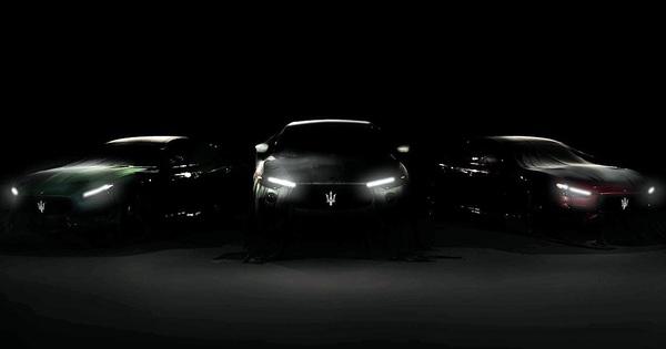 Maserati Ghibli Trofeo và Quattroporte Trofeo lộ mặt, chốt ngày ra mắt
