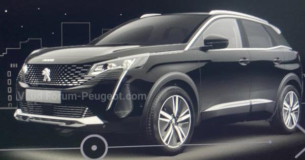 """Peugeot 3008 thế hệ mới lộ bộ mặt khác biệt với """"nanh sư tử"""" lớn"""