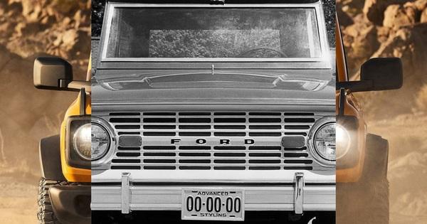 """Ford Bronco lại lộ thêm chi tiết """"hot"""" hầm hố hơn Mercedes-Benz G-Class"""