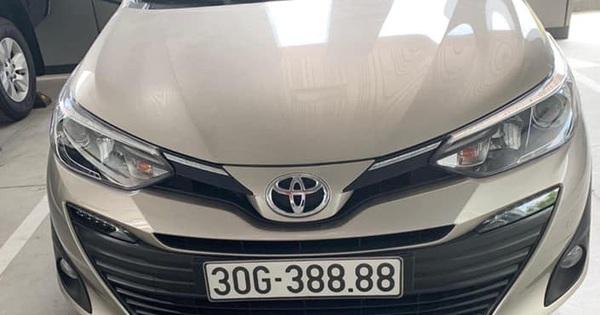 """Bốc đc biển tứ quý 8, chủ Toyota Vios tại Hà Nội bán lại giá hơn 1 tỷ, khẳng định """"khách chốt 1 tỷ lấy luôn còn không bán"""""""