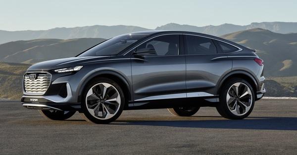 Ra mắt Audi Q4 Sportback E-Tron Concept – Xem trước SUV coupe chủ lực tương lai