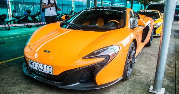 """Siêu xe McLaren 650S Spider của đại gia Cần Thơ nâng cấp hệ thống ống xả """"mạ vàng"""" giá hơn 100 triệu đồng"""