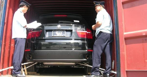 Đấu giá hạn ngạch thuế quan nhập khẩu ô tô cũ