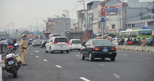 """TP. HCM: Chính thức thông xe hầm chui hơn 500 tỷ đồng tại """"điểm đen"""" giao thông"""