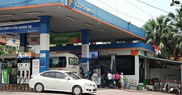 Giá xăng E5RON92 và các loại dầu tăng nhẹ từ chiều nay 28/7