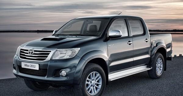 Toyota HiLux 2012: Mạnh mẽ và tiết kiệm hơn