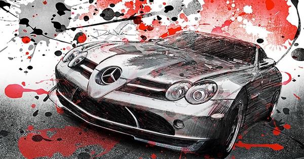 Ảnh về xe hơi ở góc nhìn nghệ thuật