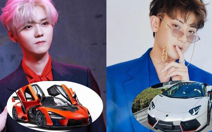 Dàn xe của hai thành viên EXO bị tố 'hôi nách' trong drama Ngô Diệc Phàm: Mỗi người 'sương sương' vài siêu xe, netizen ngồi đếm thôi cũng đủ mệt